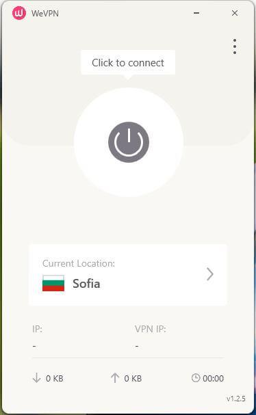 WeVPN App 2