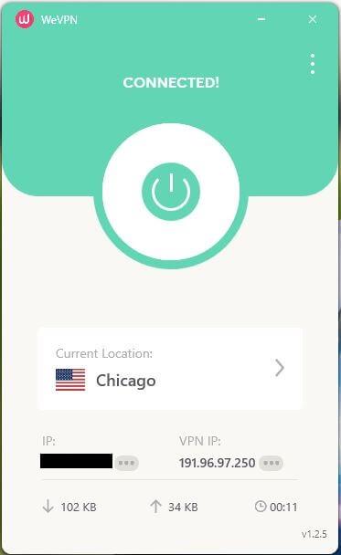 WeVPN App 4