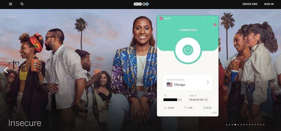 WeVPN HBO GO