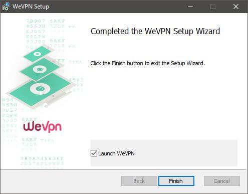 WeVPN Setup 3