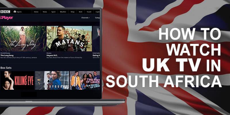 British TV South Africa