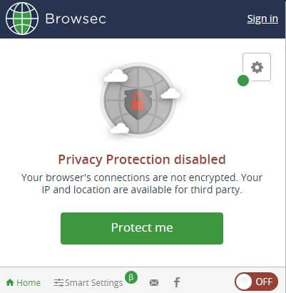 Browsec VPN App 1