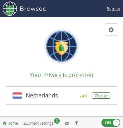 Browsec VPN App 2