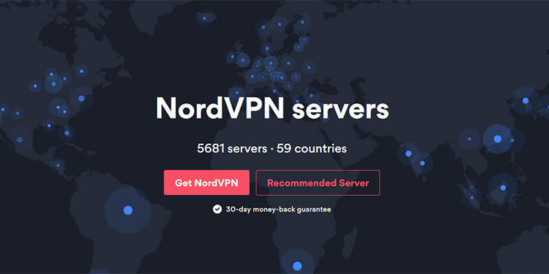 NordVPN Countries Available