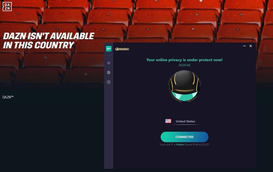 Proxy Master VPN DAZN