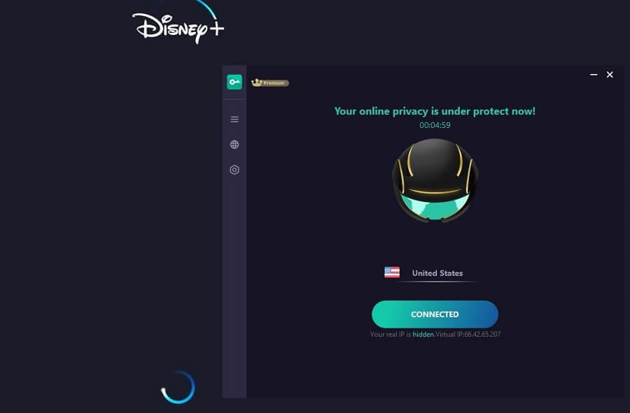 Proxy Master VPN Disney+