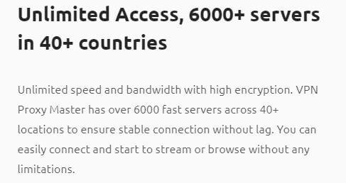 Proxy Master VPN Servers
