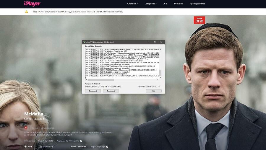 Ra4wVPN BBC iPlayer