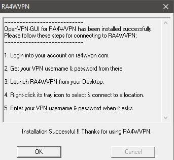 Ra4wVPN Setup 2