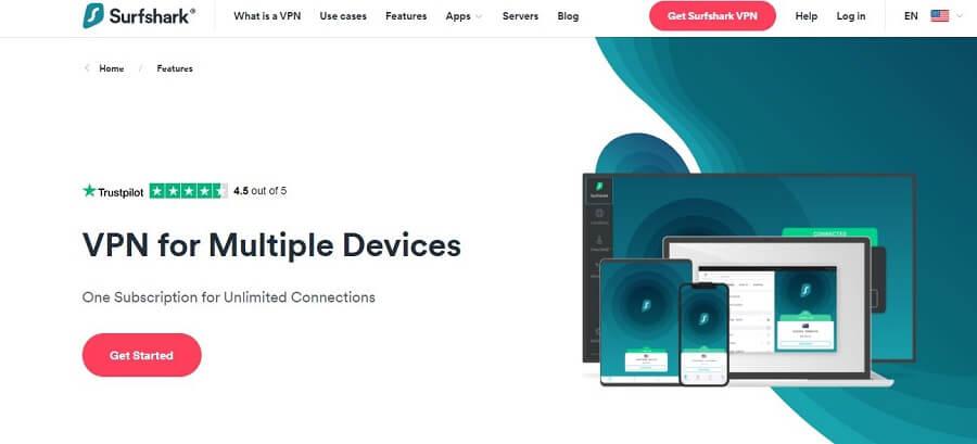 Surfshark Multiple Devices