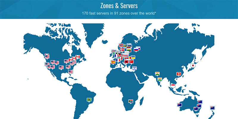Trust Zone Countries Covered