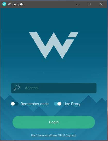 Whoer VPN App 1