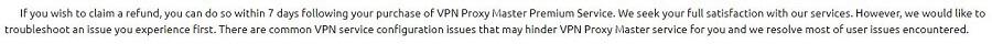 Proxy Master Refunds